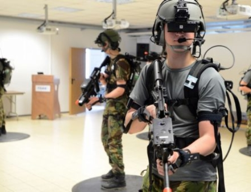 Virtual Reality Simulator Militer
