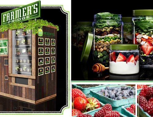 Vending Machine Salad, Vending Machine Sehat Dari Farmer's Fridge