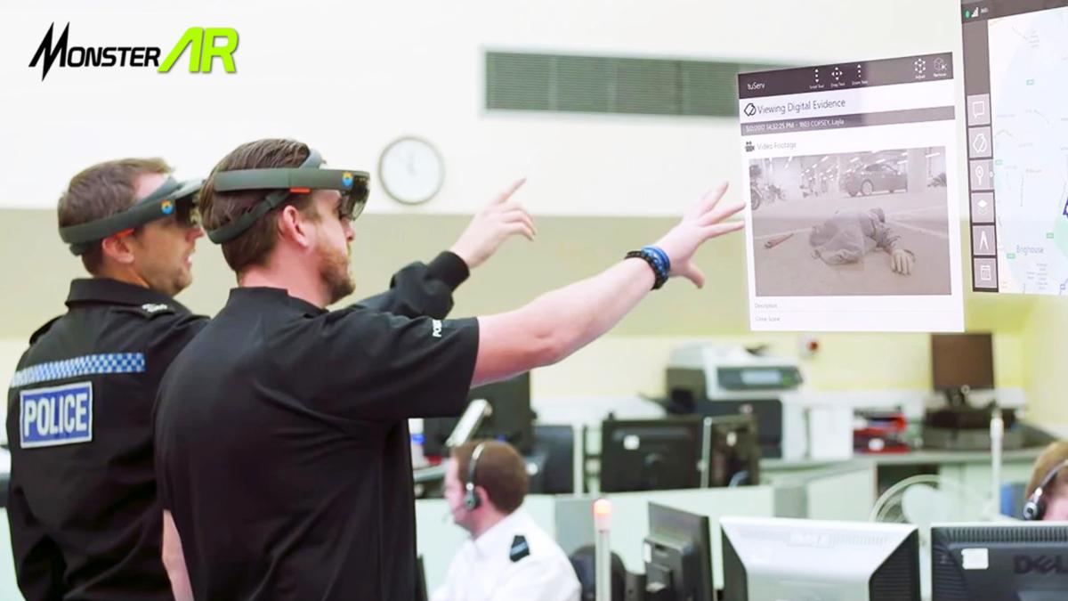 Augmented Reality Untuk Memberantas Kejahatan