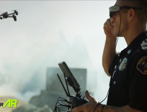 Kacamata AR dan Drone Menjadikan Pekerjaan Pemadam Kebakaran Lebih Aman dan Nyaman