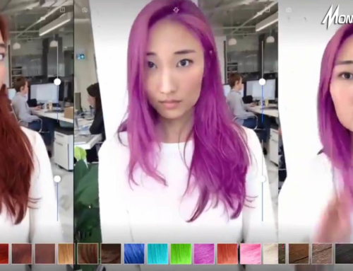Cermin AR Memungkinkanmu Untuk Berganti Berbagai Warna Rambut Dalam Hitungan Detik