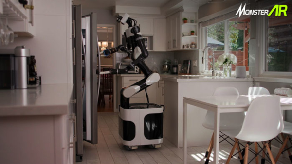 vr untuk melatih robot
